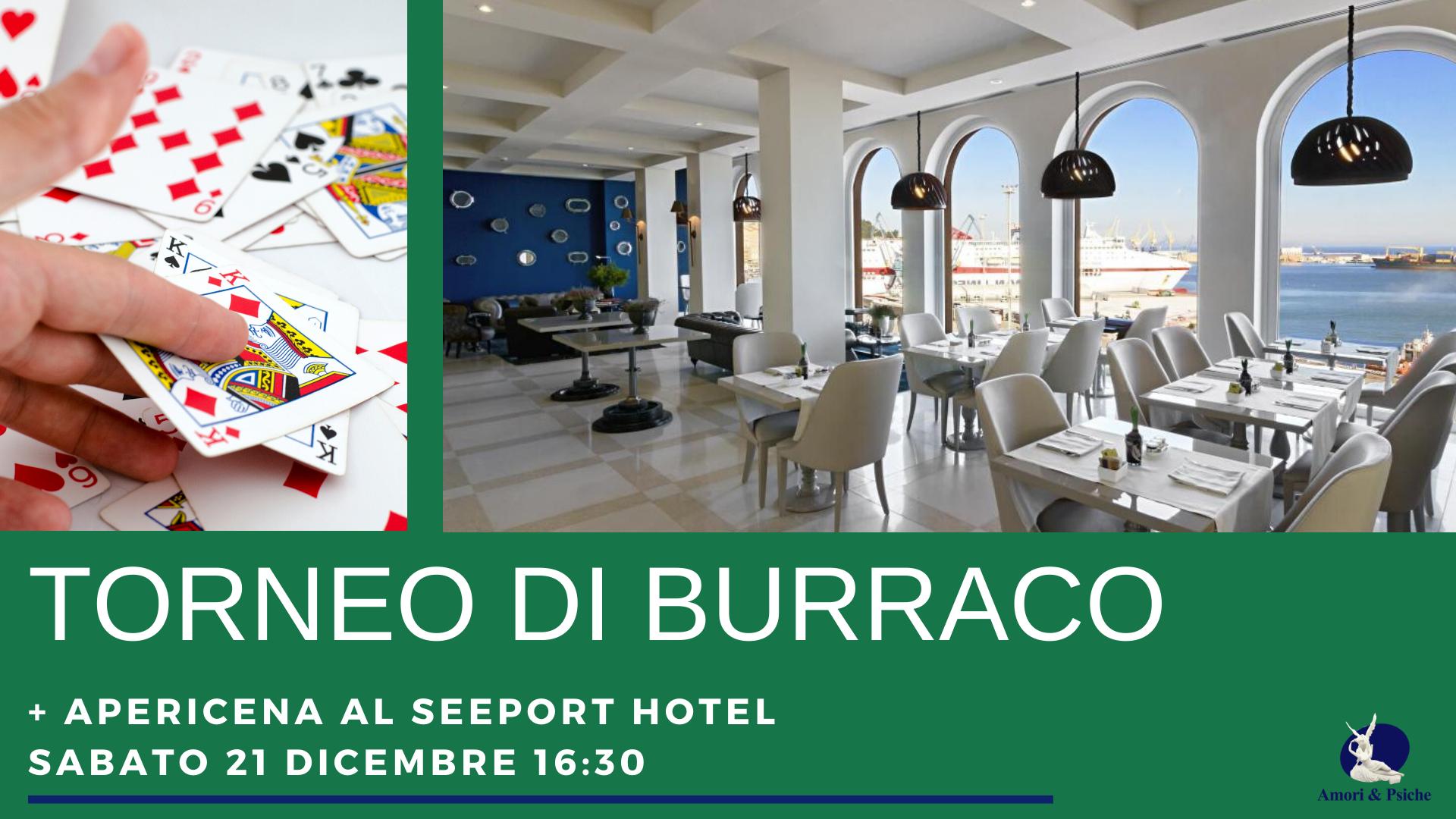 Torneo di Buccaco al SeePort Hotel il 21 Dicembre, vieni??