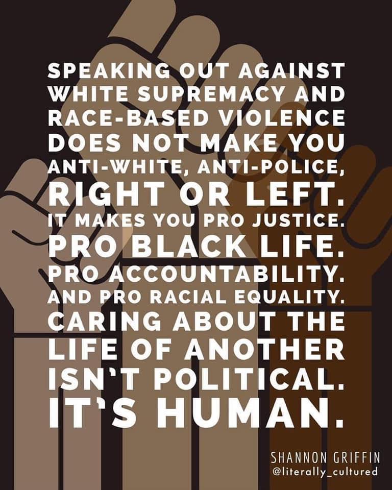 Black Lives Matter | La nostra Posizione