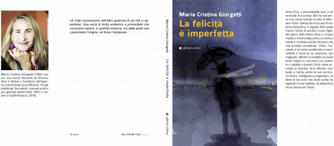 La Felicità è Imperfetta | Nuovo Libro di Maria Cristina Giorgetti